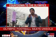 London Olympic football tickets unsold