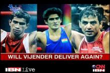 Confident Vijender wants more at London 2012