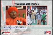 Team Anna has broken the sanctity of fast: Agnivesh