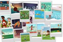 Replay Google's interactive Olympic doodles