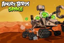 Angry Birds now go to Mars