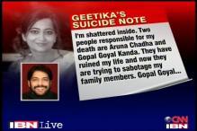Police scan Kanda's 400 SMS to Geetika Sharma