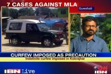 Assam: MLA Pradeep Brahma's supporters block rail tracks