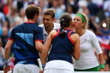 Azarenka-Mirnyi win gold in mixed doubles