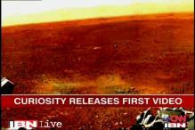 Watch: NASA's Curiosity's first video from Mars