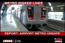 Did DMRC compromise on airport metro line safety?