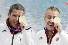 Olympics: Hungary win gold in men's K-2 1000m
