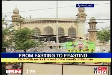 Hyderabad: Tight security amidst Eid celebrations