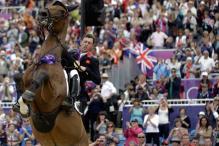 Britain win team dressage equestrian gold