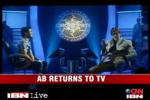 Big B set to return to TV with 'KBC 6'