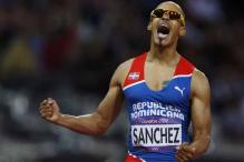London 2012 hurdles: Sanchez wins 400m gold