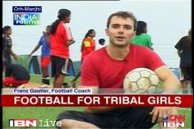Jharkhand: American changes lives with football