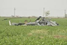 Pictures: 2 IAF helicopters crash in Gujarat