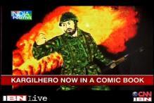 Merchant Navy officer writes comics on war heroes