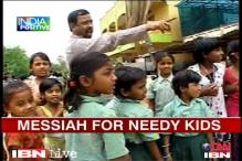 AP: Meet Issidore Philip, a messiah for street kids
