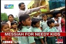 AP: Meet Issidore Philip, a messiah for street kids