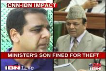 J&K: Minister's son fined Rs 21 lakh for power theft