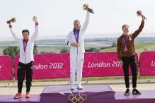 Olympics: Julie Bresset wins mountain bike gold