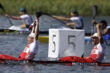 Russia win 200m Kayak-2 sprint Olympic gold