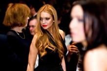 Lindsay Lohan, Charlie Sheen in 'Scary Movie 5'