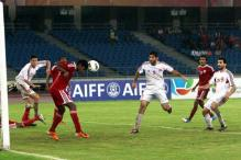 Maldives beat Syria 2-1 in Nehru Cup