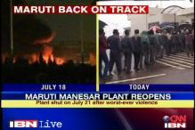 Maruti reopens Manesar plant amid heavy security