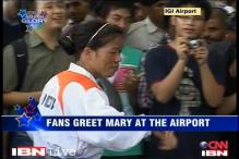 Mary Kom as pleased as punch after London bronze