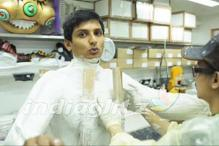 Jiiva flown to Hong Kong for his superhero suit