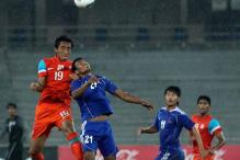 India held by Nepal in Nehru Cup football