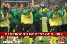 Cameroon footballers eye big at Nehru Cup