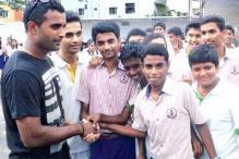 Hyderabad: Nethula goes nostalgic, visits old school