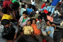 NE exodus: 5 held in Bangalore for spreading rumours