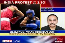 American boxer also committed fouls: Indian Chef-de-Mission