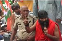 Watch: Ramdev, supporters taken into preventive custody
