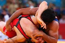 Did Sushil bite his opponent's ear?