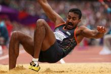 Olympics: Triple-jumper Renjith crashes out