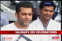 Watch: Salman celebrates Eid with family, fans
