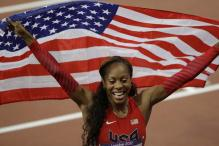 Sanya Richards-Ross runs to 400m Olympic gold