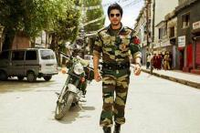 Shah Rukh begins his first ever shoot in Kashmir