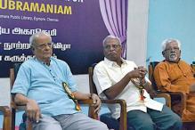 Chennai: Tamil writer, critic Ka Na Su celebrated