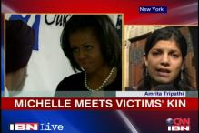 Gurudwara shooting: Michelle Obama visits Oak Creek