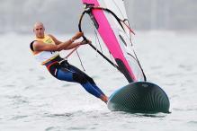 Olympics: Rijsselberge wins gold in windsurfing