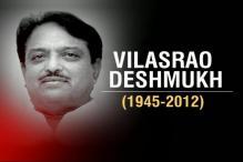 Political leaders mourn death of Vilasrao Deshmukh