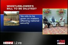 Govt likely to dilute Whistleblowers Bill: Sources