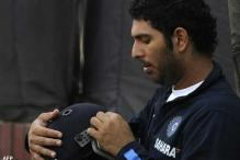 Yuvraj scores 47 in practice game