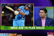 India aim to plug holes against England