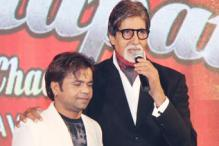 In pics: Amitabh Bachchan at the audio launch of  'Ata Pata Laapata'