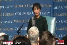 Dealing with crisis, one step at a time helps: Aung San Suu Kyi