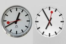 Apple accused of copying clock design