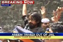 Mumbai: Cartoonist Aseem Trivedi released from jail
